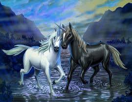 hossaingpix tarafından Design a unicorn picture for nursery painting için no 158