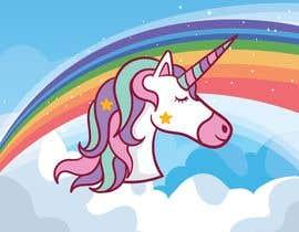 bbmantonia tarafından Design a unicorn picture for nursery painting için no 152