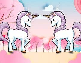 sonugraphics01 tarafından Design a unicorn picture for nursery painting için no 154