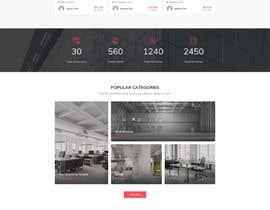 #35 untuk Website mokup design oleh saddam36