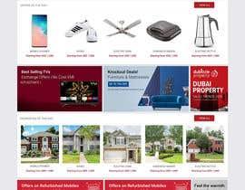 Nro 21 kilpailuun Website mokup design käyttäjältä vaidehibala