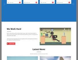 Nro 3 kilpailuun Website mokup design käyttäjältä hosnearasharif