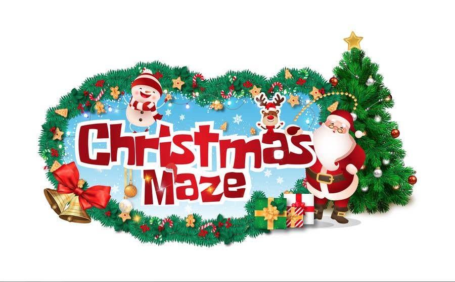 Kilpailutyö #52 kilpailussa Logo for Christmas Sign
