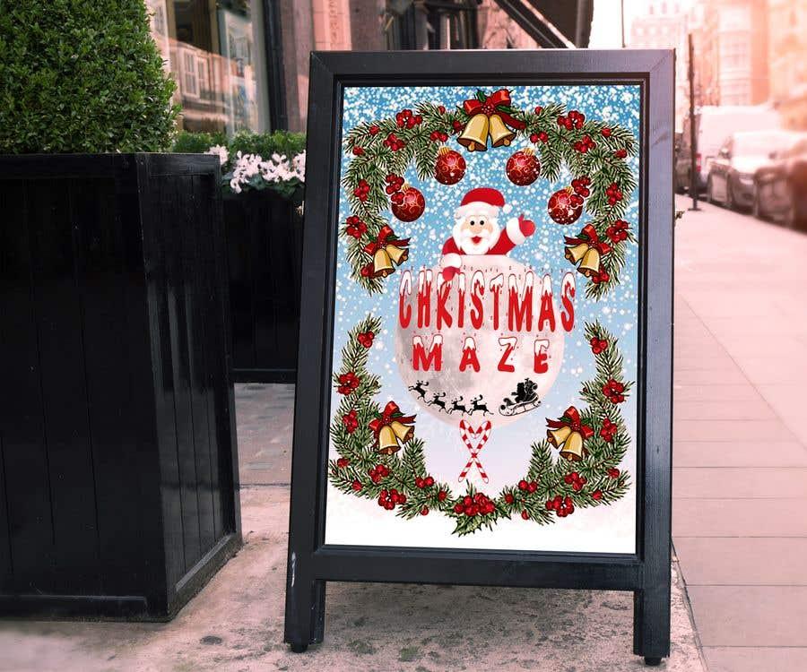Kilpailutyö #86 kilpailussa Logo for Christmas Sign