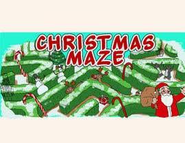 #90 para Logo for Christmas Sign por Maxoverdrawn