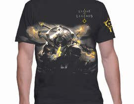 #36 for League of legends T Shirt by asifahmed23