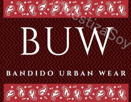 #5 for necesito ISOLOGO marca BANDIDO URBAN WEAR af MestizaSoy