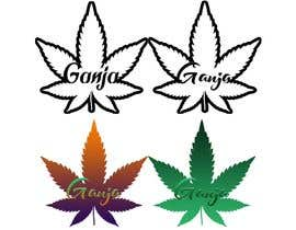 """#1 for Create a novel weed themed cover image: Draw/create a novel marijuana themed image, which incorporates the word """"Ganja"""" by shekogamer"""