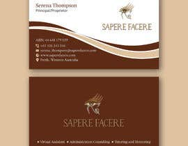 #921 для Design a name card от wefreebird