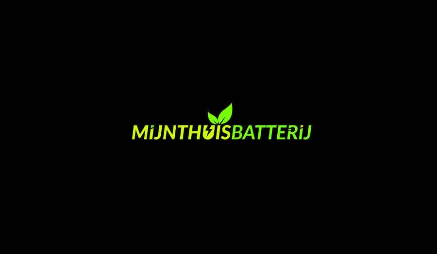 Конкурсная заявка №133 для Design a modern logo for Mijnthuisbatterij