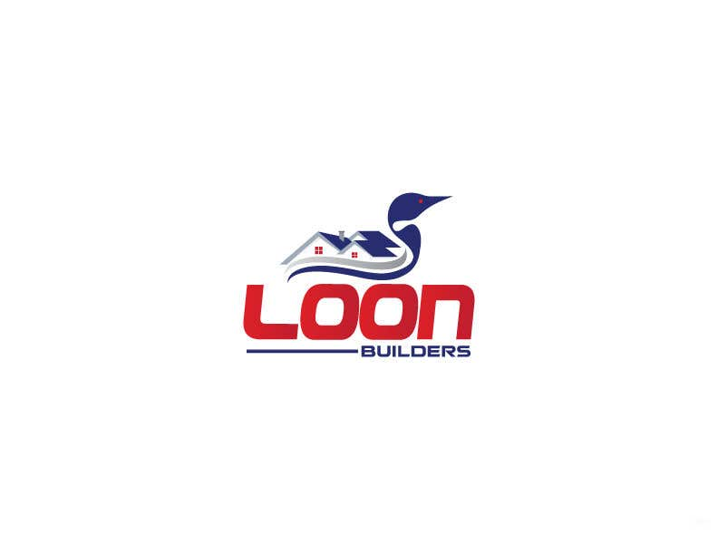 Proposition n°184 du concours Hi, I need a logo for an residential construction Company (loon builders). I prefer a loon (bird) to stand out with some construction attachments in the background. Any idea is welcome, so you guys are free to come up with something original.