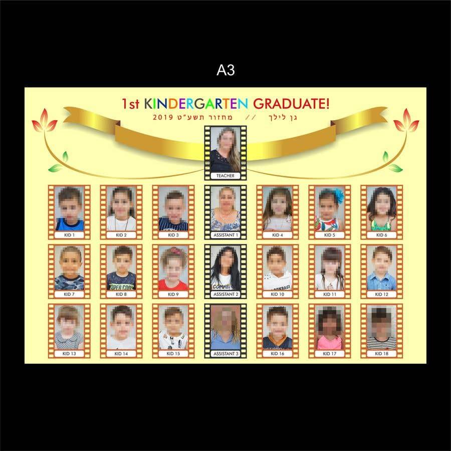 Kilpailutyö #68 kilpailussa Kindergarten end of year collage