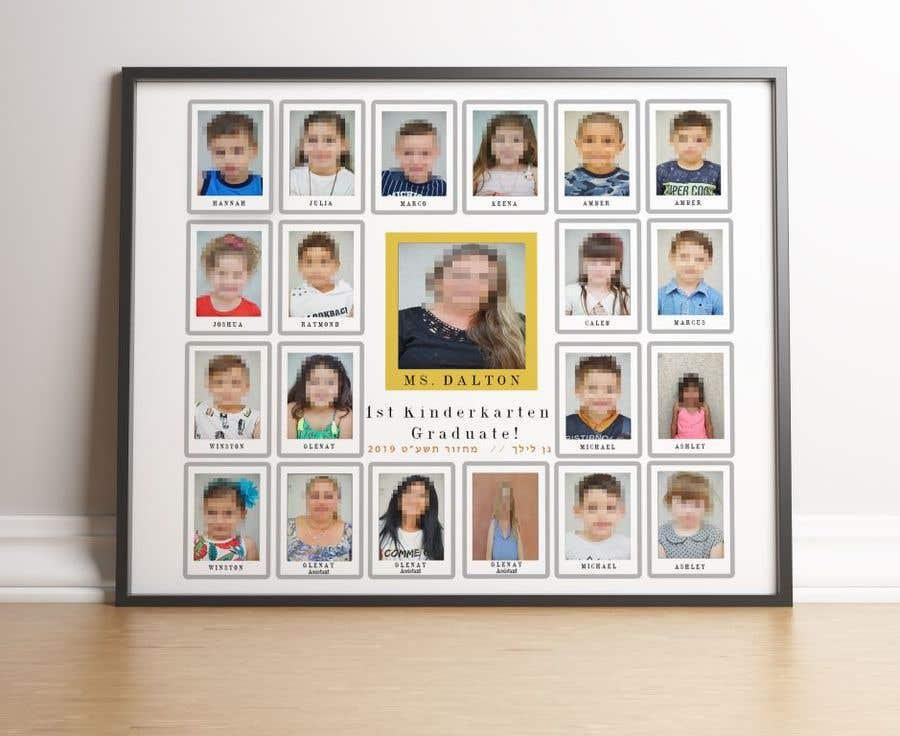 Kilpailutyö #12 kilpailussa Kindergarten end of year collage