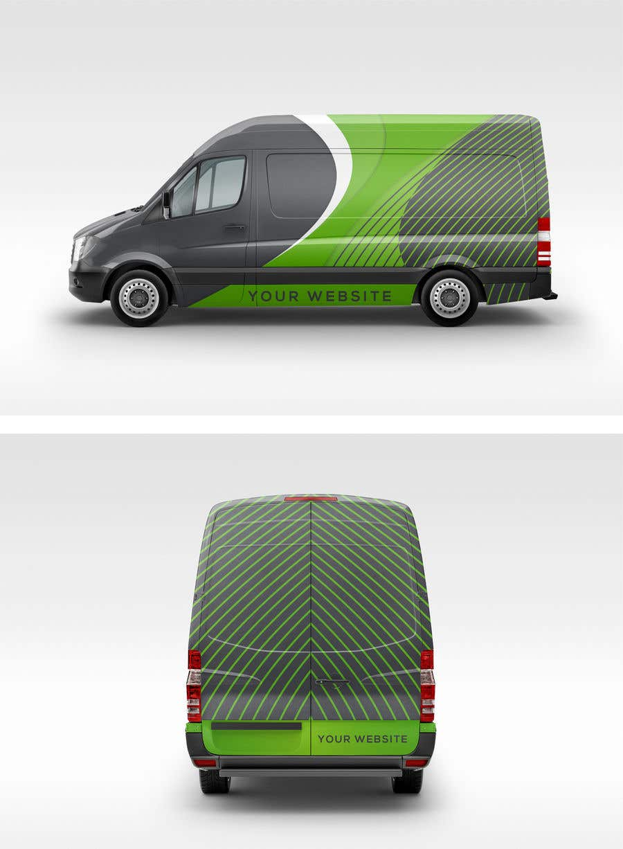 Contest Entry #48 for Vehicle Wrapping design for Transporter