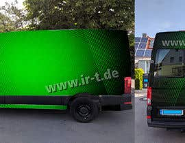 #59 for Vehicle Wrapping design for Transporter by Markksz