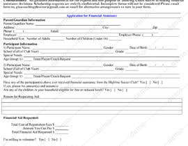 #16 for URGENT Need financial aid form created PDF by atifjahangir2012