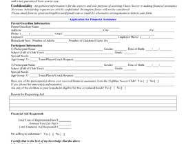 #6 for URGENT Need financial aid form created PDF af alimohamedomar