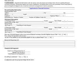 #5 for URGENT Need financial aid form created PDF by shamim111sl