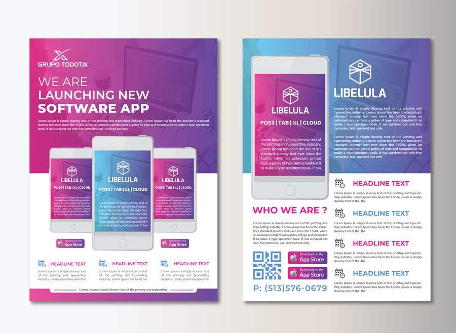 Entry 80 By Nayangazi987 For Design A Flyer For Software Company Guaranteed Contest Freelancer
