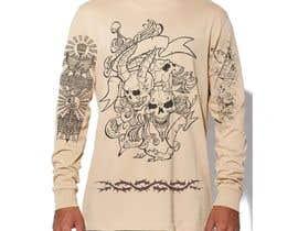 nº 19 pour Tattoo T-shirt for men par hossaingpix