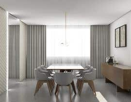 #22 para Furniture Layour for Livin and Dining Room in a flat por nathaliacassano