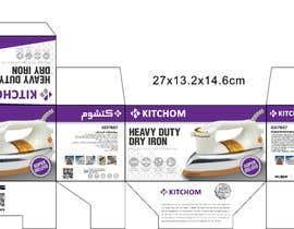 nº 12 pour Product Package box designing par regenry112
