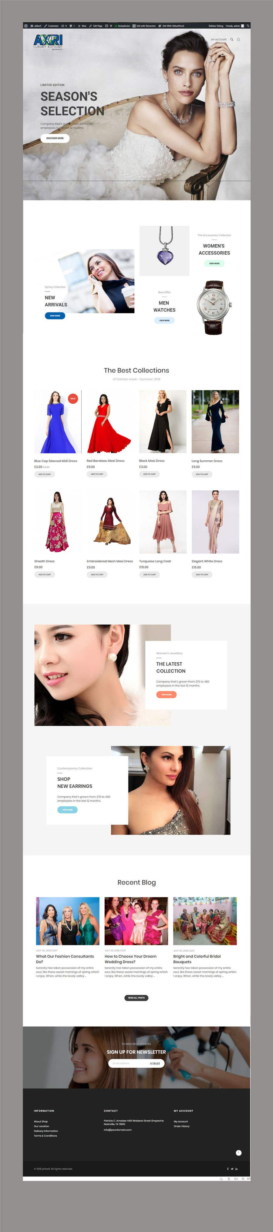 Proposition n°10 du concours Rental and booking landing shop page design + service offering 1 pager
