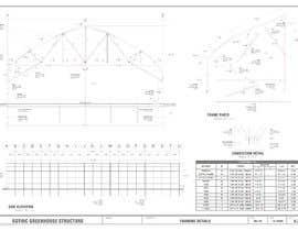#2 para Greenhouse AUTOCAD Parts Production por RENEDIAZCAD
