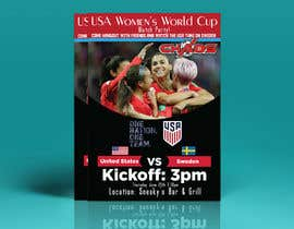 #32 para URGENT Need Flyer Created for World Cup viewing Party por sobujhasan226