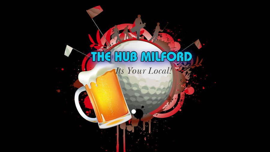 Конкурсная заявка №19 для local pub/bar logo