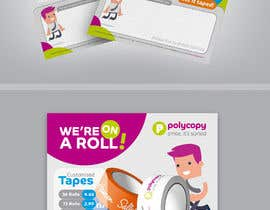 #13 for Design an enquiry leaflet for printed tape af jamegroz