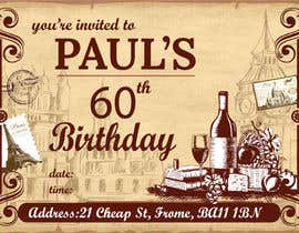 Nro 50 kilpailuun Invitation Template for Birthday Party käyttäjältä azahermia