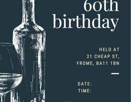 Nro 5 kilpailuun Invitation Template for Birthday Party käyttäjältä emporiam