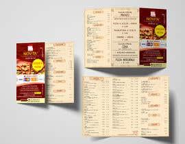 Nro 9 kilpailuun flyer for restaurant käyttäjältä creativepluscomb