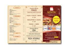 Nro 11 kilpailuun flyer for restaurant käyttäjältä creativepluscomb