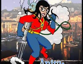 #28 untuk Cartoon digital painting of my best friend in Superhero mode oleh manikmoon