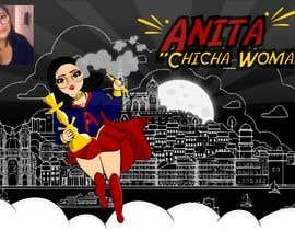 #1 for Cartoon digital painting of my best friend in Superhero mode af geandreina9