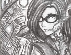 #29 for Cartoon digital painting of my best friend in Superhero mode af DanialHakeemi