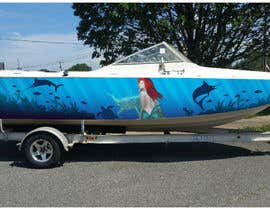 #13 для Design Boat Wrap / Graphics от Mantazed