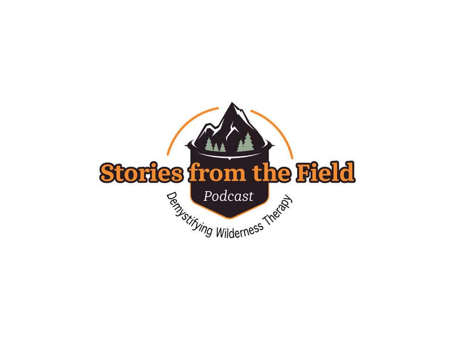 Konkurrenceindlæg #262 for design a logo for podcast Stories from the field: Demystifying Wilderness Therapy