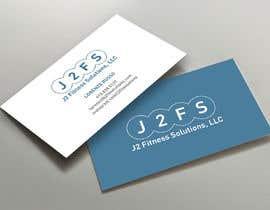 #91 untuk J2 Fit Solutions business cards oleh Srabon55014