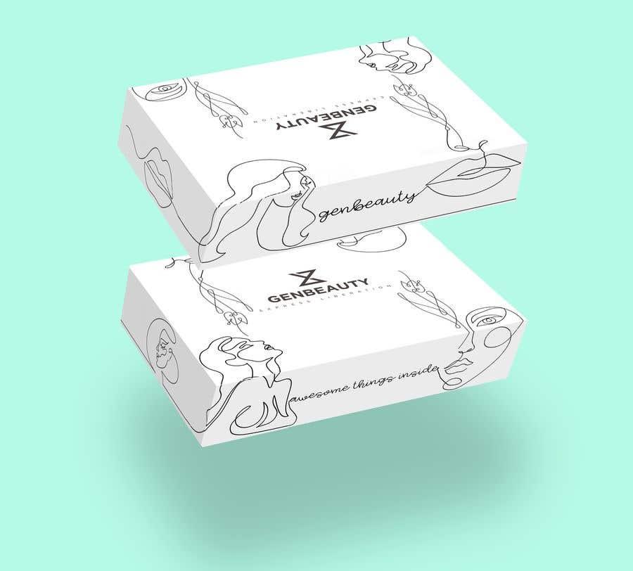 Penyertaan Peraduan #19 untuk One line art packaging design