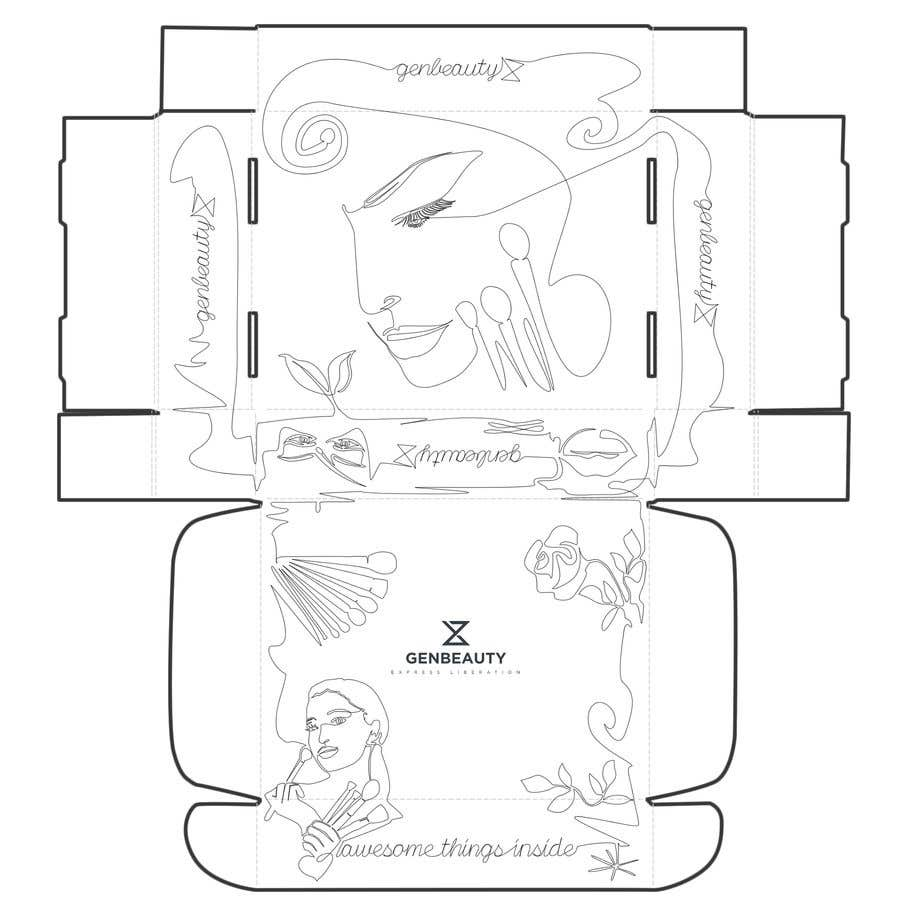 Kilpailutyö #20 kilpailussa One line art packaging design