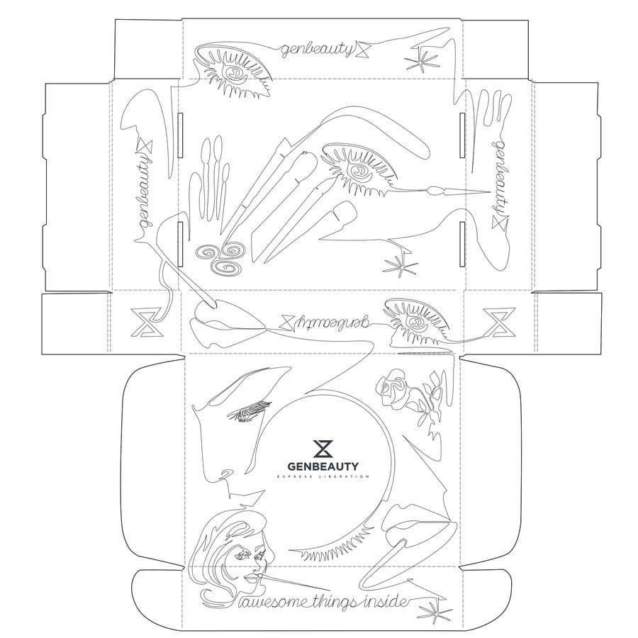 Penyertaan Peraduan #33 untuk One line art packaging design