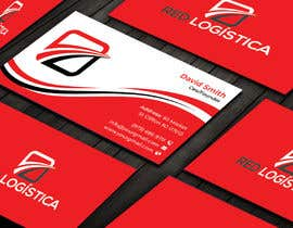#97 untuk Bussiness Card Red Logistica oleh pritishsarker