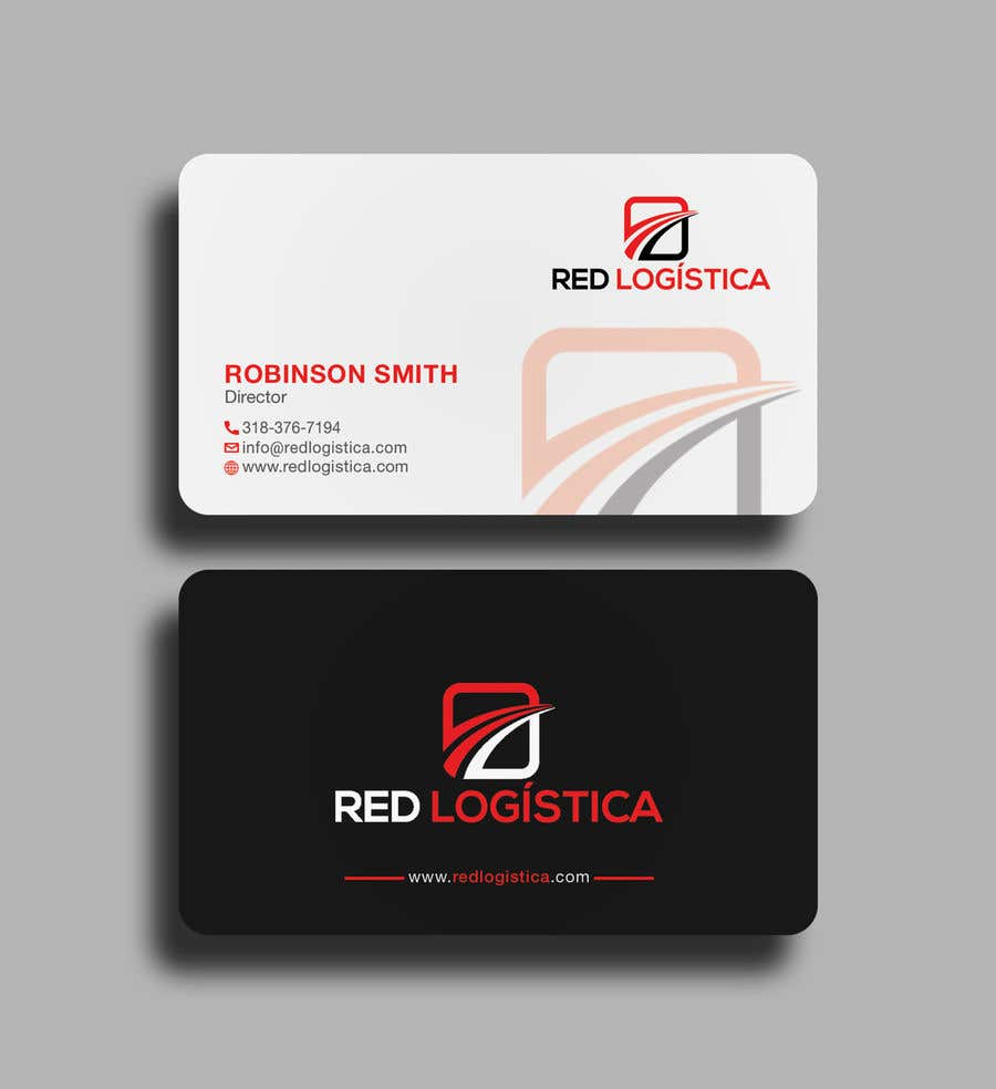 Contest Entry #107 for Bussiness Card Red Logistica