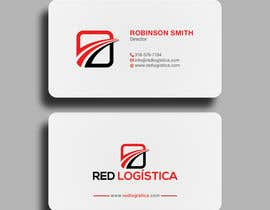 #108 for Bussiness Card Red Logistica by SSarman88