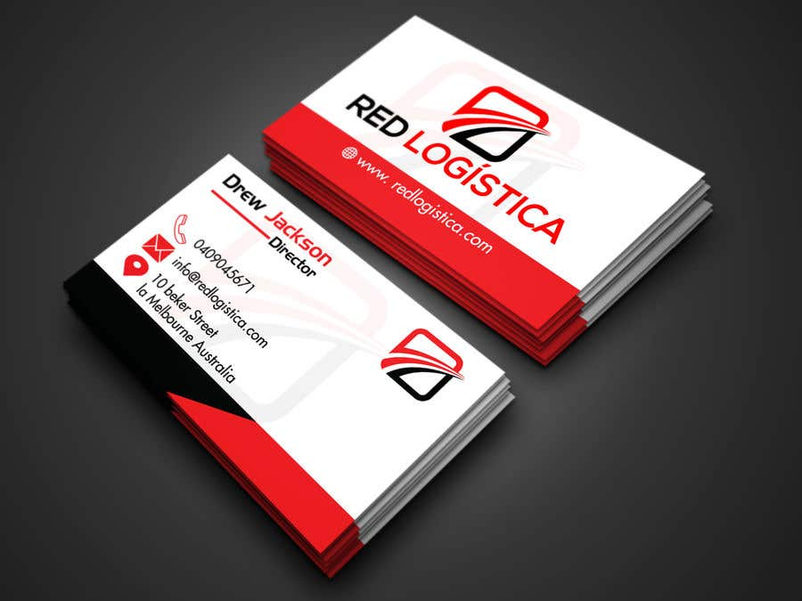 Contest Entry #92 for Bussiness Card Red Logistica
