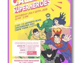 #10 for I need someone to create flyer very attractive to the public. The flyer is about the superheroes  - 19/06/2019 16:04 EDT af aulialilok