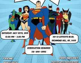 #3 for I need someone to create flyer very attractive to the public. The flyer is about the superheroes  - 19/06/2019 16:04 EDT af estefibergaglio